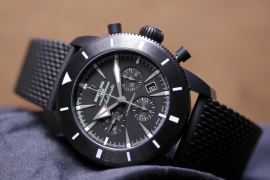 Breitling Superocean Heritage Chronoworks® is a combination of  superior performance and exclusive 'engine'