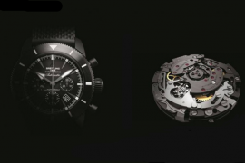 Breitling self-made movements with high efficiency, reliability and high accuracy (B)