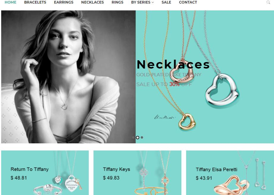 replica Tiffany jewlery sale in USA
