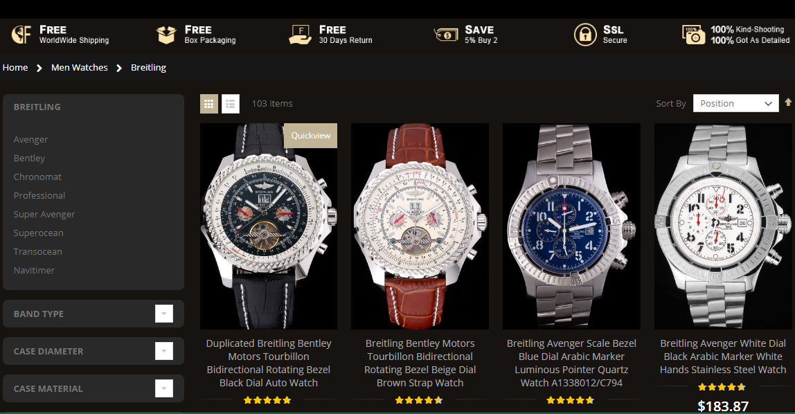 replica breitling sale in mca.mn