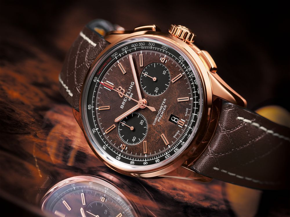 The best partner: Breitling launches the Premier Bentley Centenary Limited Edition Watch