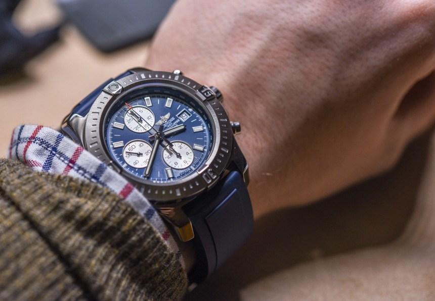 breitling Chronomat watch for student