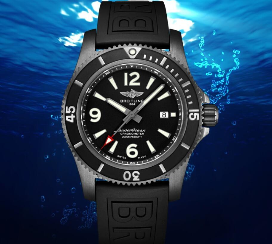 Extraordinary professional diving timepiece: Breitling launches new Superocean watch
